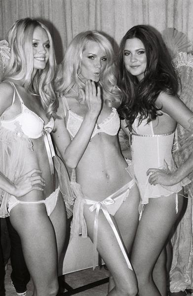 Caroline Winberg in lingerie