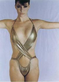 Kelly LeBrock in a bikini