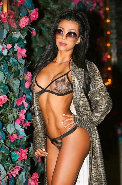 Jenna Charlette in a bikini