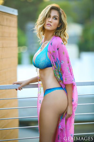 Emily Trosclair in a bikini