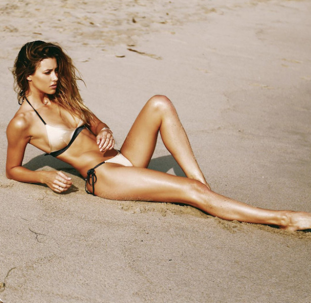 Jessica Serfaty in a bikini