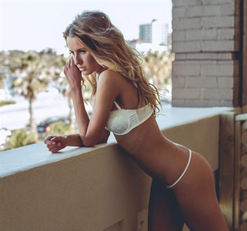 Renee Somerfield in a bikini