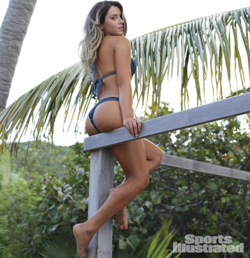 Anastasia Ashley in a bikini - ass