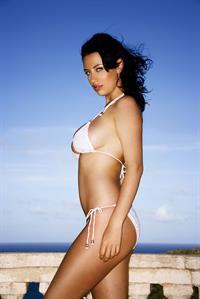 Sophie Howard in a bikini