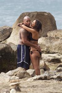 Samantha Mumba in a bikini