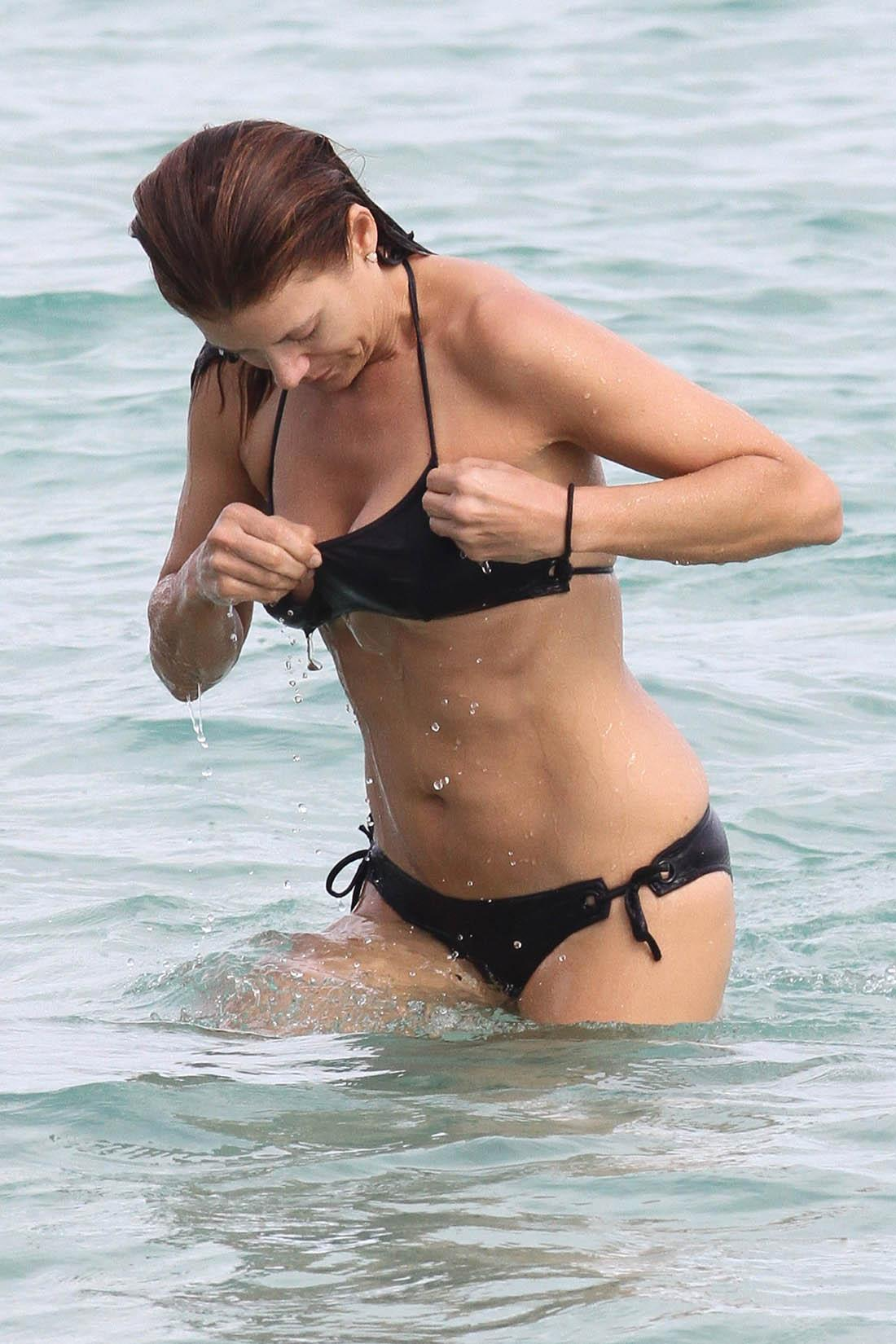 Kate Walsh in a bikini