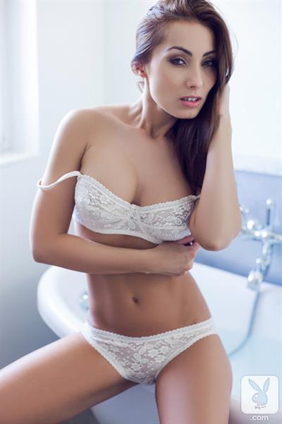 Playboy Cybergirl - Tunde Pavlik Takes a Bath