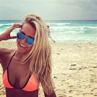 Camille Kostek in a bikini
