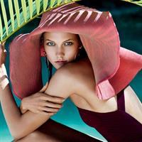 Karlie Kloss in a bikini