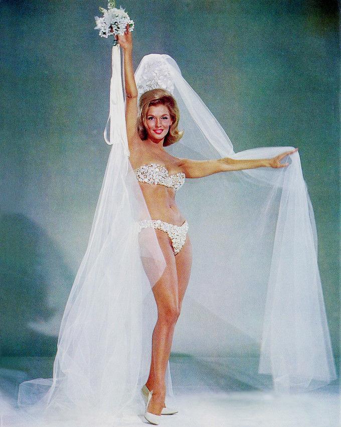 Nancy Kovack in a bikini