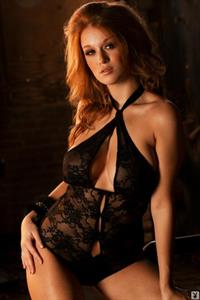 Leanna Decker in lingerie