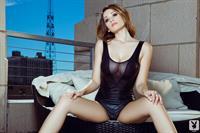 Ali Rose in lingerie