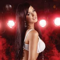 Camila Davalos in lingerie