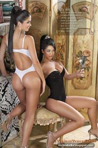 Camila Davalos in a bikini - ass