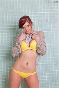 Veronica Ricci in lingerie