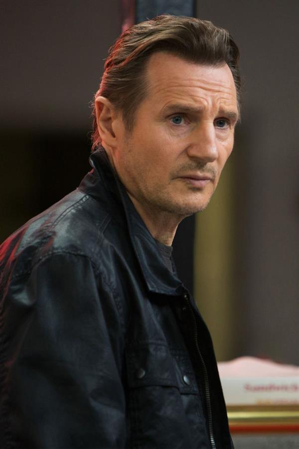 Liam Neeson in black jacket