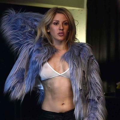 Ellie Goulding in lingerie