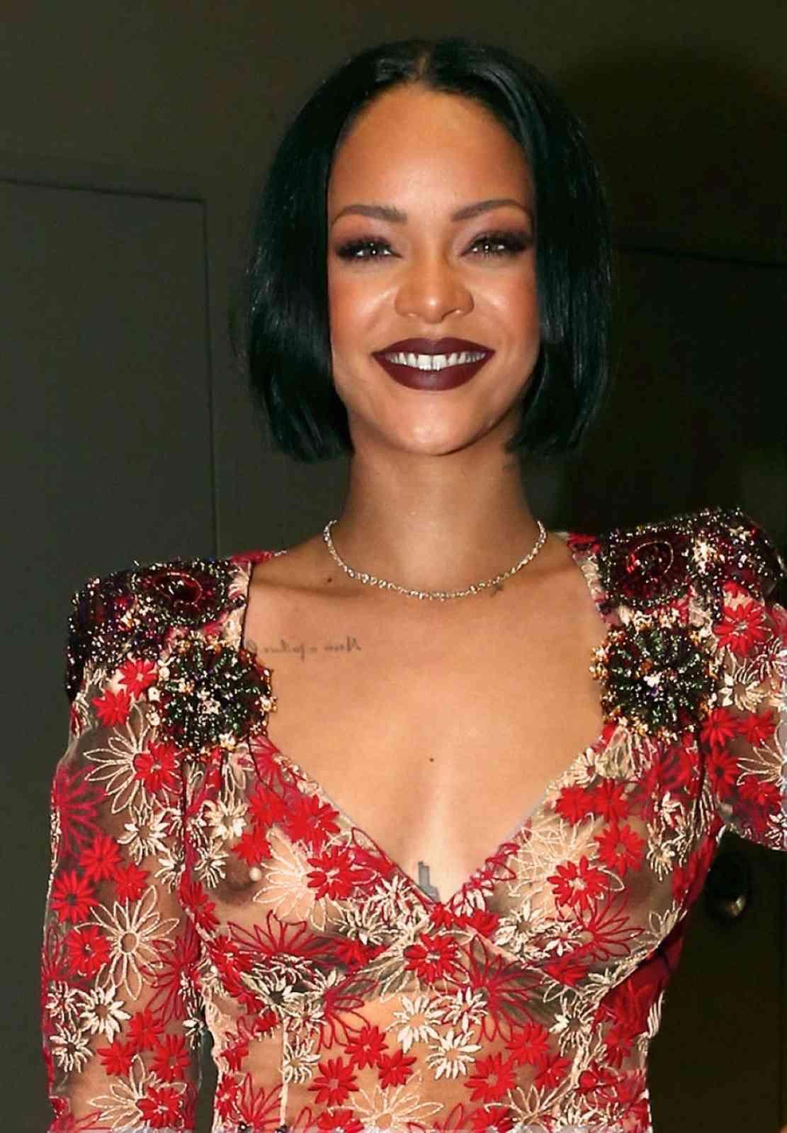 Rihanna - breasts