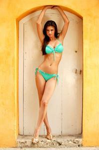 April Rose in a bikini