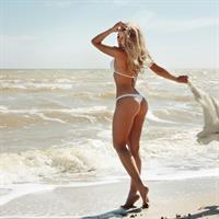 Evgeniya Rudaya in a bikini - ass