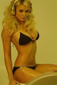 Lindsay Elizabeth Wagner in a bikini