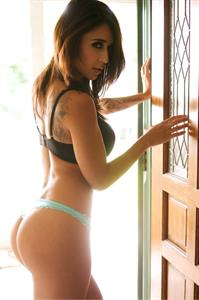 Tianna Gregory in lingerie - ass