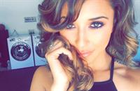 Tianna Gregory taking a selfie