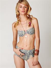 Linda Vojtova in a bikini