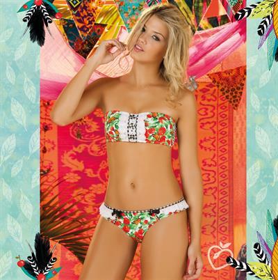 Catalina Uribe in a bikini