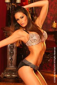 Kelly Brannigan in lingerie