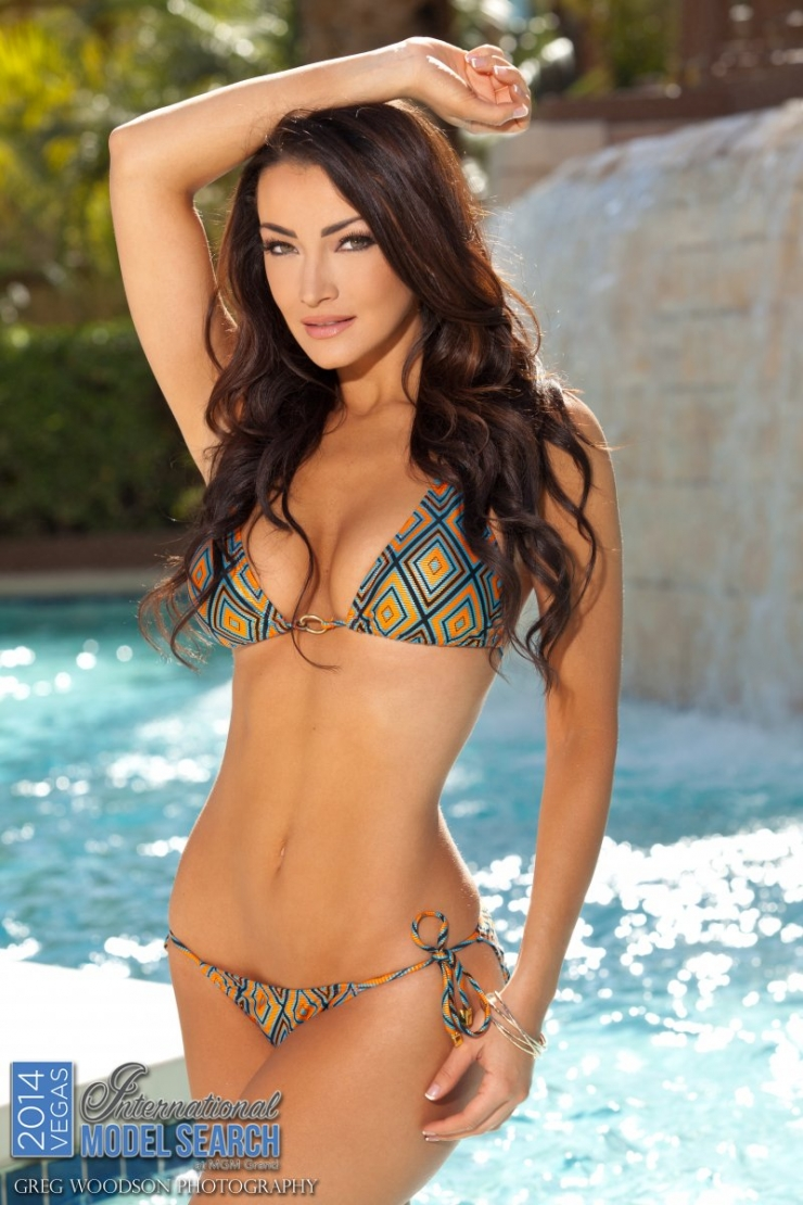 Jennifer Lynn Decillis in a bikini