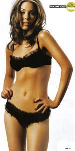 Roxanne McKee in lingerie