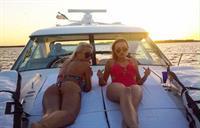Jessica Stepanova in a bikini - ass
