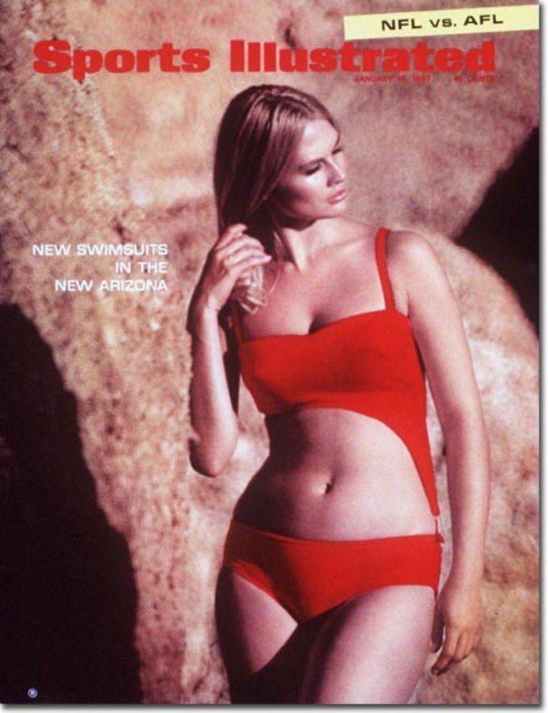 Marilyn Tindall in a bikini