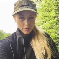 Pernille Penelopee taking a selfie and - ass