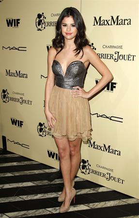Selena Gomez Women in Film pre Oscar cocktail party in LA on February 24, 2012