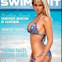Genevieve Morton in a bikini