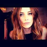 Arielle Vandenberg taking a selfie