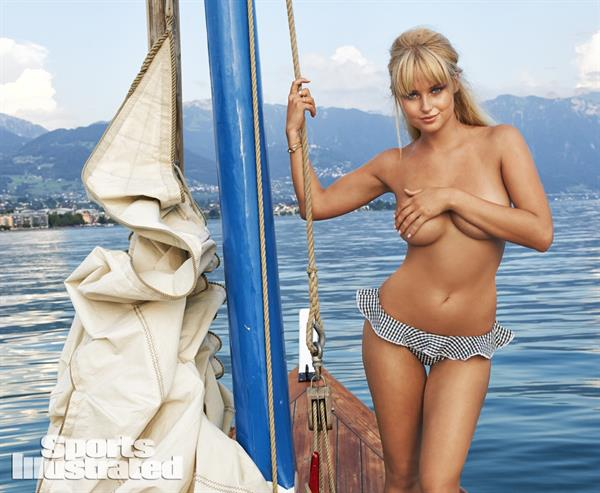 Genevieve Morton topless for Sports Illustrated