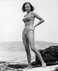 Babette March in a bikini