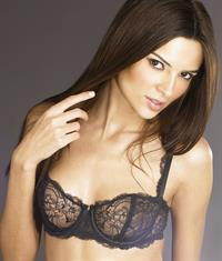 Jennifer Lamiraqui in lingerie