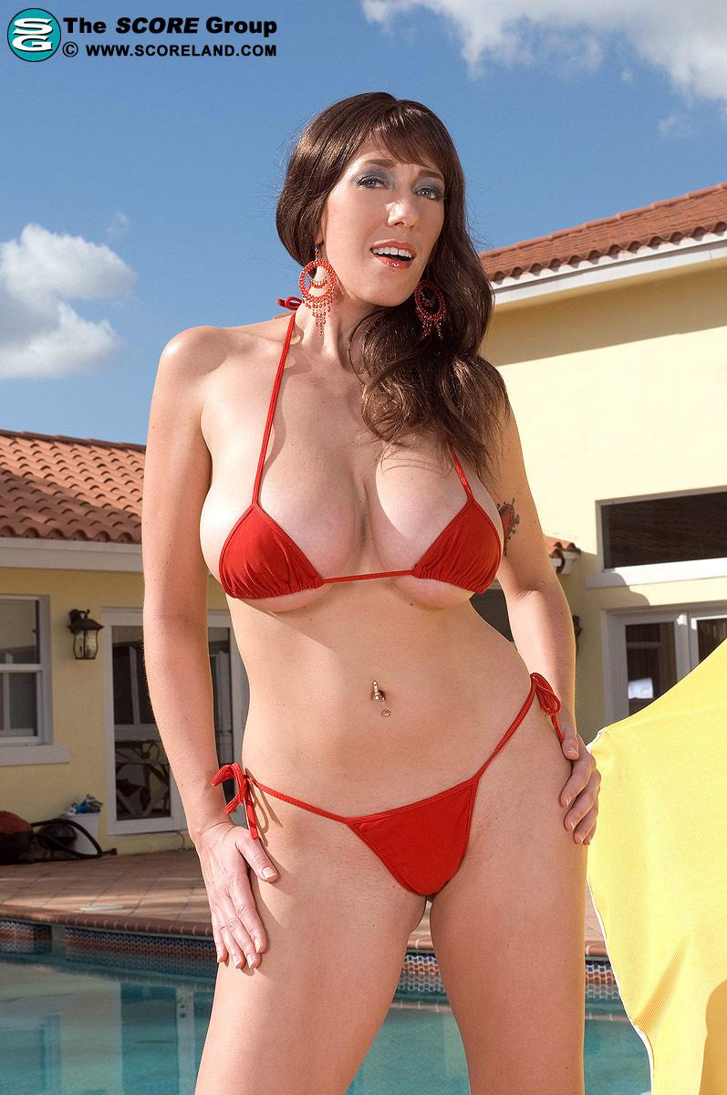 Alia Janine in a bikini