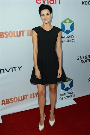 Jaimie Alexander attending Pathway to the Cure Benefit at Santa Monica Airport June 11, 2014