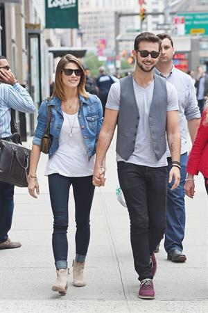 Ashley Greene strolling through NYC June 11, 2014
