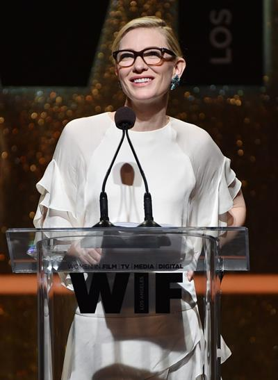 Cate Blanchett at Women In Film 2014 Crystal And Lucy Awards June 11, 2014