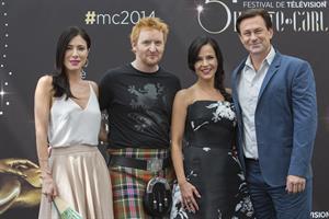 Julie Benz  Jaime Murray Photocall @ 54th Monte Carlo Tv Festival June 10, 2014