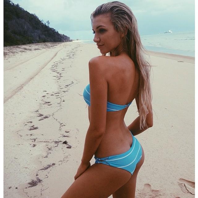 Gabrielle Grace Epstein in a bikini