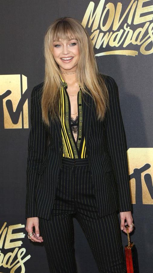 Gigi Hadid in MTV Movie Awards 2016