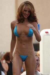 Samantha Harris (Model) in a bikini