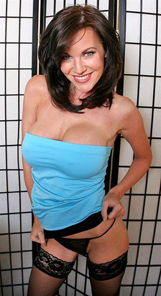 Brandi Edwards in lingerie